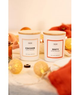 Duo de bougies Zesty + Cocoon