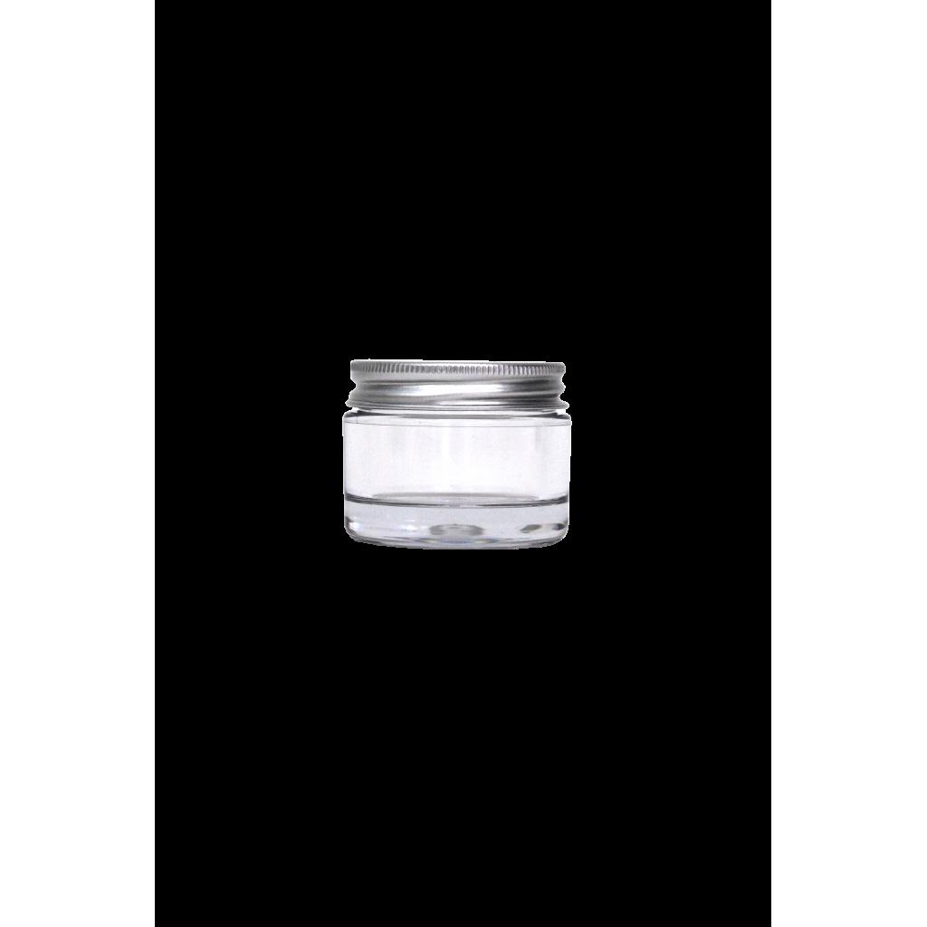 Pot 30ml avec couvercle en aluminium