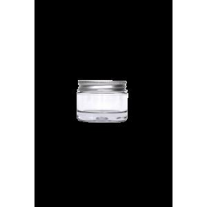 Pot 30ml à double paroi avec couvercle en aluminium