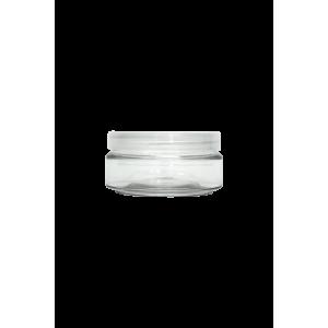 Pot vide 100ml avec Couvercle Plastique