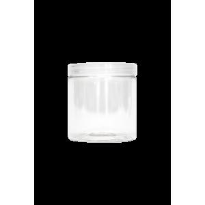 Pot 250ml avec Couvercle Plastique