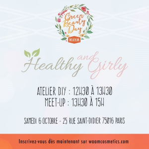 Atelier DIY avec Healthy-and-Girly