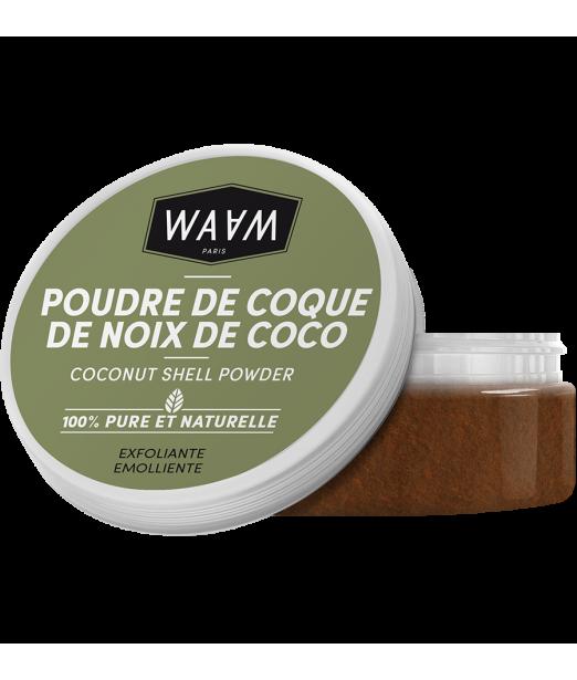 Poudre de coque de noix de coco ionisée (fine) WAAM