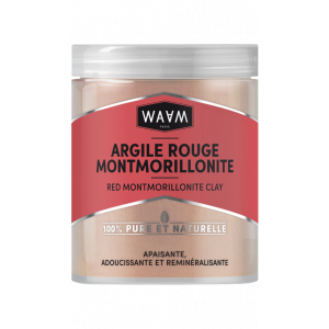 Montmorillonite red clay
