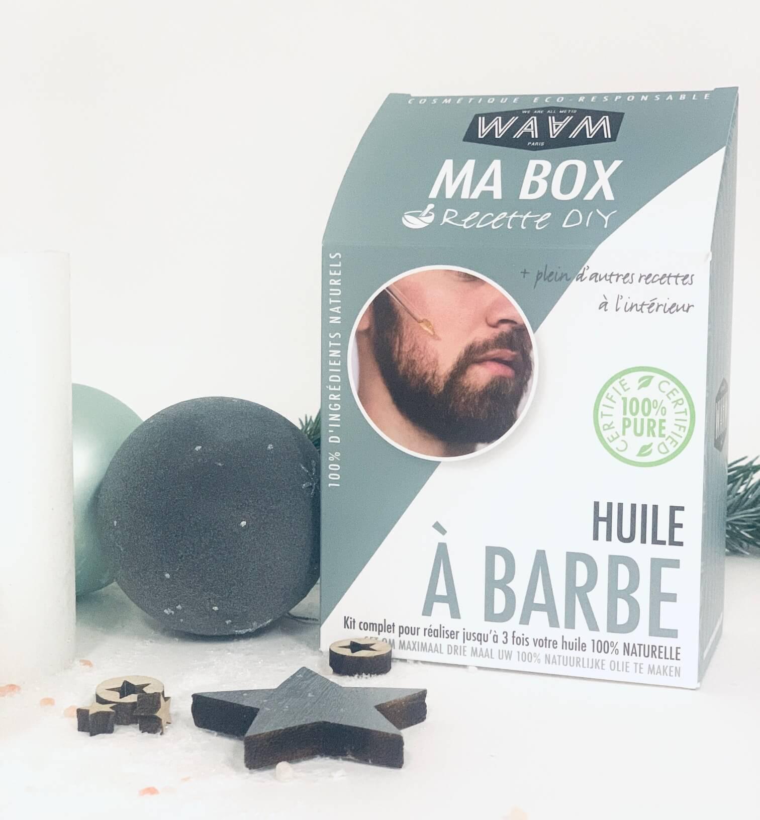 Boutique de noel - Kit Huile À Barbe