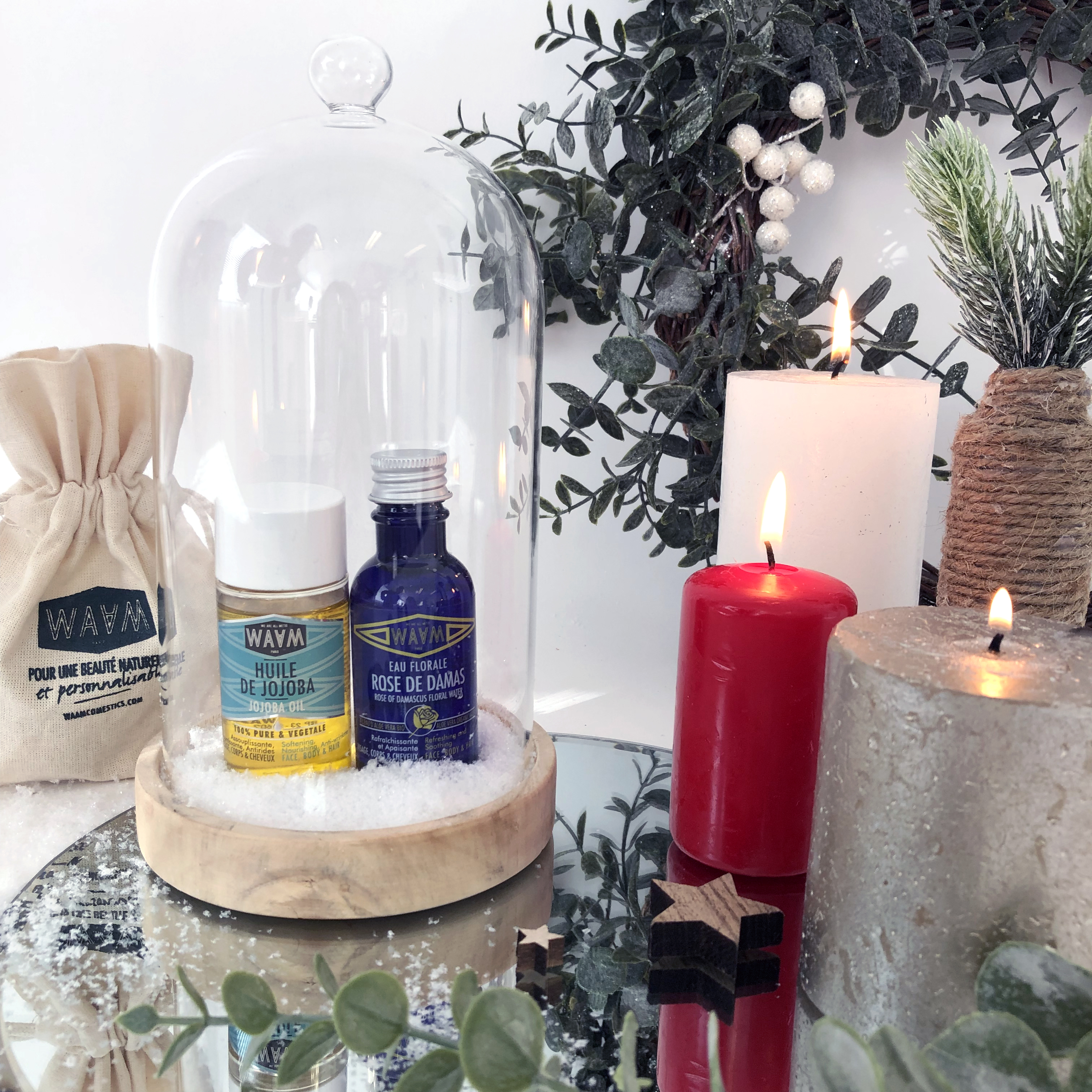 Boutique de noel - Mini duo - Démaquillant
